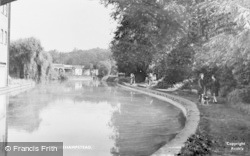 Berkhamsted, The Canal c.1950