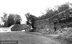 Berkhamsted, The Castle c.1955
