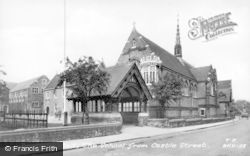 Berkhamsted, The School From Castle Street c.1955