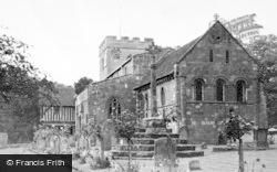 Berkswell, Church And Memorial c.1955