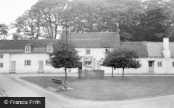 Berkswell, The Village Green And Post Office c.1955