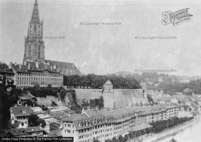Photo of Berne, And The Cathedral c.1939