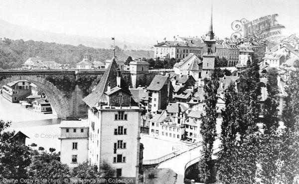 Photo of Berne, From The Rosengarten c.1870