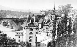 Berne, From The Rosengarten c.1870
