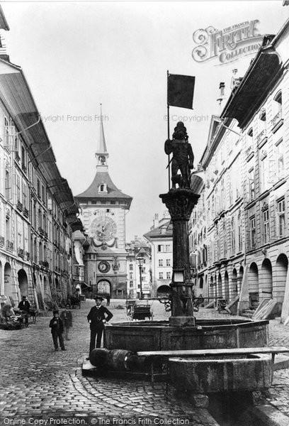 Photo of Berne, Kramgasse Beitglochthurm c.1870