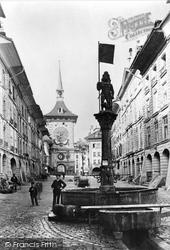 Berne, Kramgasse Beitglochthurm c.1870