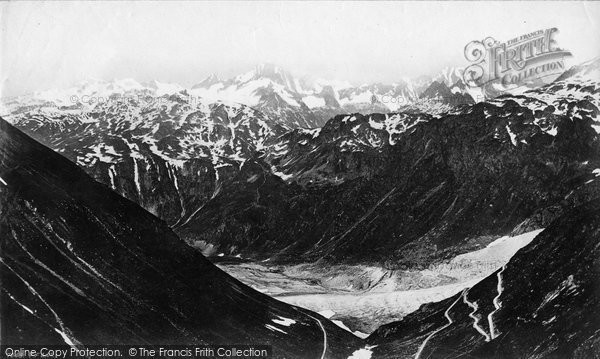 Photo of Berne, Oberland Mountains From Faulhorn c.1875