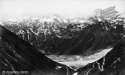 Berne, Oberland Mountains From Faulhorn c.1875