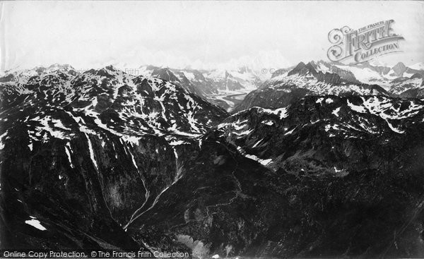 Photo of Berne, Oberland Mountains From Leichenstadt c.1875