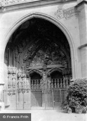 The Cathedral Door c.1939, Berne