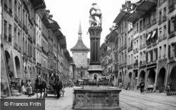 The Fountain Of Samson c.1920, Berne