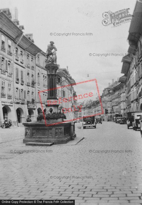 Photo of Berne, The Fountain Of Samson c.1939