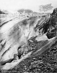 Berne, Urbach Thal, Wall Of Gauli Glacier c.1860