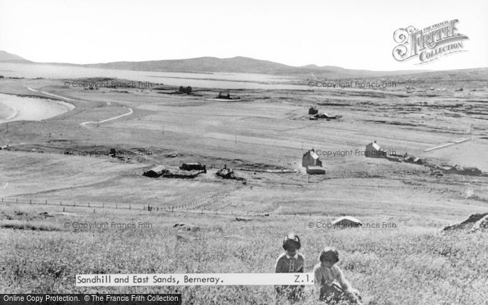 Photo of Berneray, Sandhill And East Sands c.1955