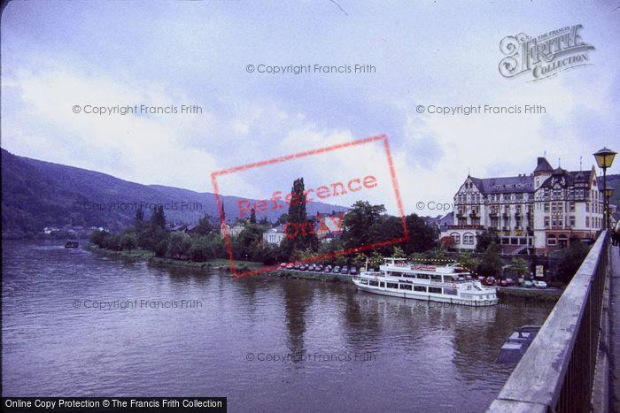 Photo of Bernkastel Kues, From River Bridge c.1985