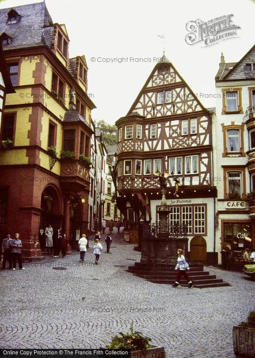 Photo of Bernkastel Kues, Town Hall And Market Place 1982