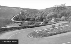 Berriedale, Hill, Hairpin Bend c.1935
