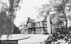 Berriew, The Vicarage c.1950