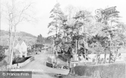 Berriew, The Village c.1955