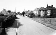 Berrow, Burnham Road c.1955
