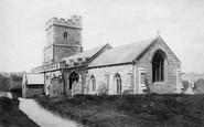 Berrow, St Mary's Church 1896