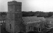 Berrow, The Church c.1955