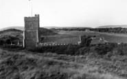 Berrow, The Church On The Sands c.1955