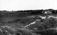 Berrow, The Golf Links From The Church c.1955