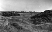 Berrow, View From The Church c.1955