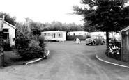 Berrow, Yew Tree Caravan Site c.1960