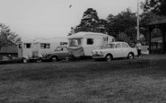Berry Hill, Caravans, Forest Park Camp c.1965