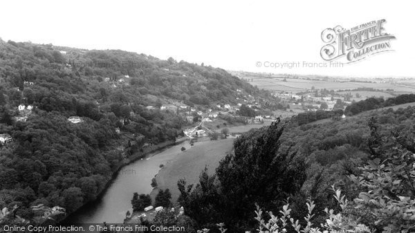 Berry Hill, view from Yat Rock c1965