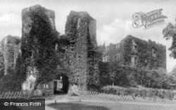 Castle c.1900, Berry Pomeroy