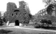 Berry Pomeroy, Castle Gateway 1890