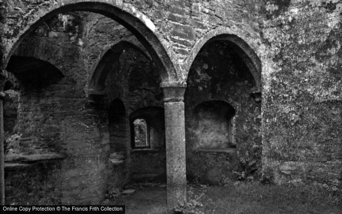 Photo of Berry Pomeroy, Castle, Room Over The Gate 1956