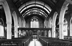 Berry Pomeroy, Church Interior 1890