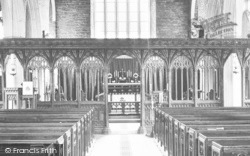Berry Pomeroy, Church Screen 1890