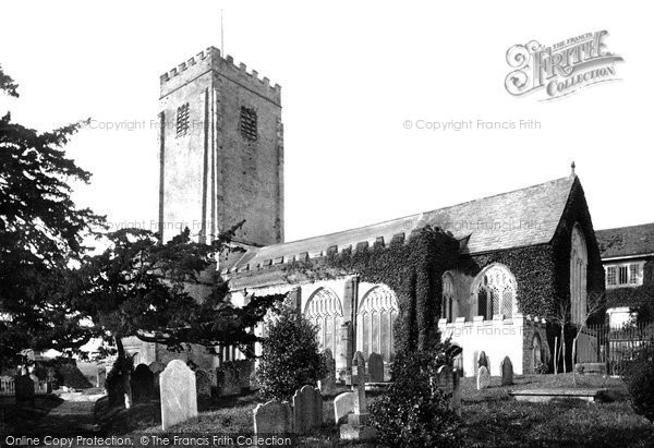 Photo of Berry Pomeroy, St Mary's Church 1889