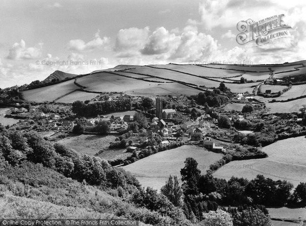Berrynarbor, General View c.1960