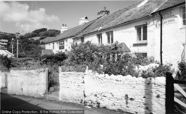 Berrynarbor, Globe Inn And Corfe Castle 1962