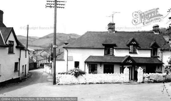 Berrynarbor, The Village c.1955