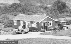 Berrynarbor, Trailer Park Site Office And Stores c.1960