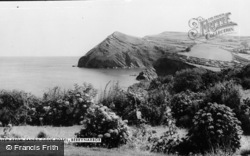 Berrynarbor, View From Sandy Cove Hotel c.1960