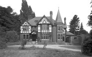 Bersham, Bersham Hall 1952