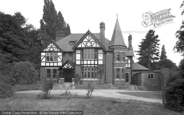 Photo of Bersham, Bersham Hall 1952