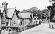 Bersham, Mill Terrace 1952