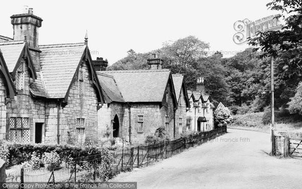 Photo of Bersham, Mill Terrace 1952
