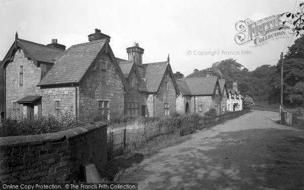 Photo of Bersham, Mill Terrace 1953