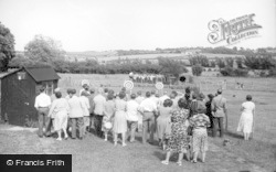 Berwick, Archery At Drusillas c.1955