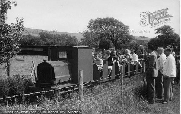 Berwick, Drusillas Park, The Miniature Railway c.1955